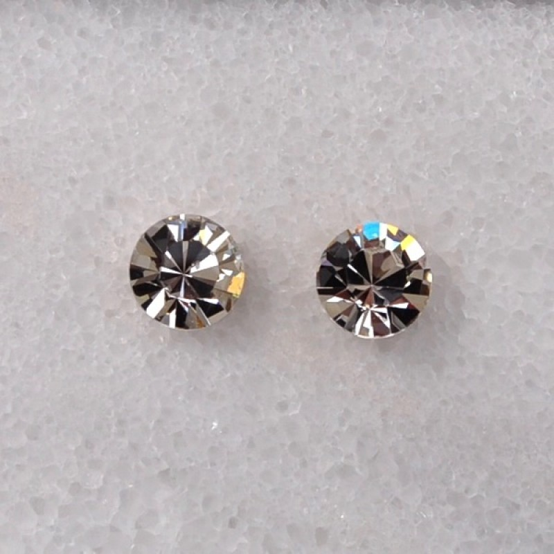 Swarovski Element Stud Earrings - Item #34E - 7mm