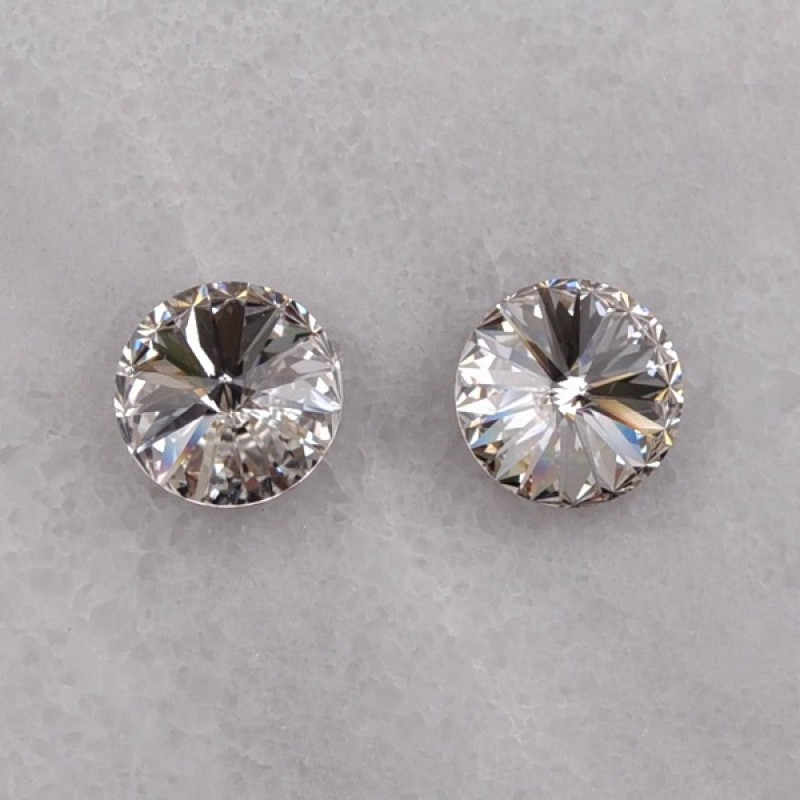 Swarovski Element Stud Earrings - Item #510E - 10mm