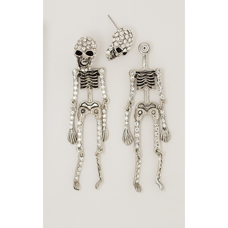 Austrian Crystal Skeleton - Item# GE-304115CL