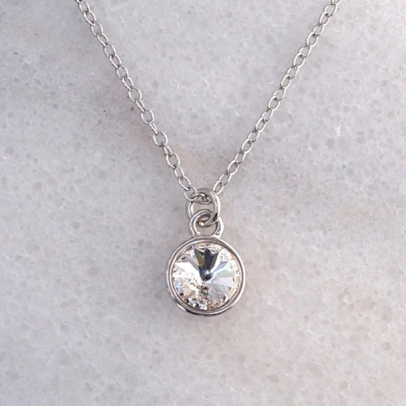 Swarovski Element Necklace - Item #41847S - 18 in + 2 in