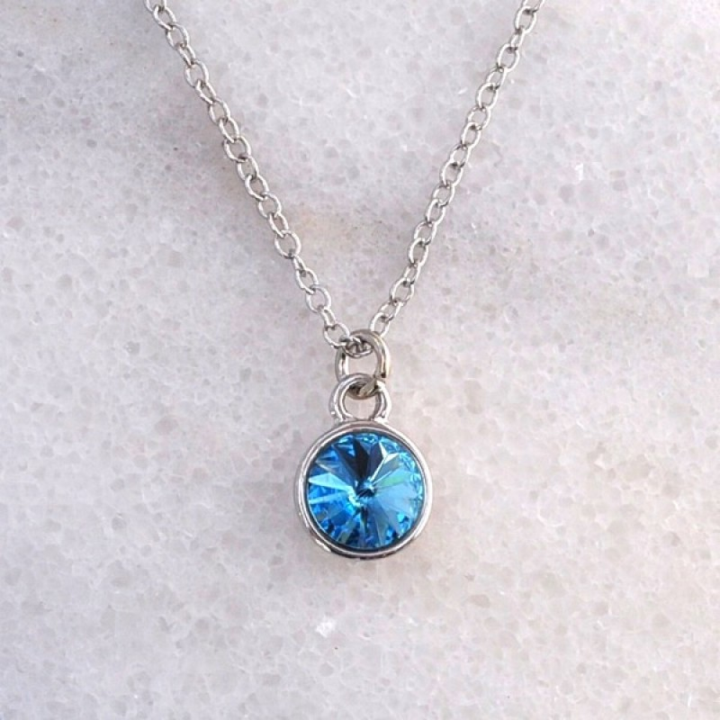 Swarovski Element Necklace - Item #41847S - 18 in + 2 in