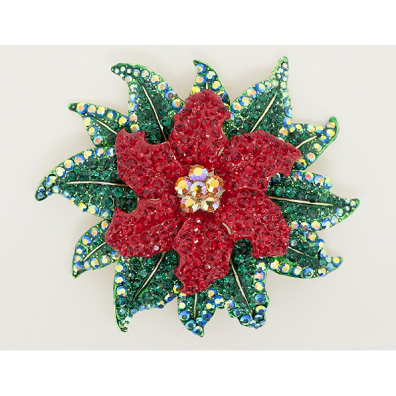 Large Red Poinsettia - Item# 9181RD